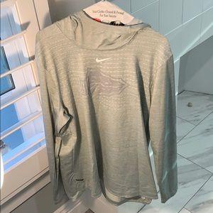 Men's Nike St. John Bosco hooded pullover
